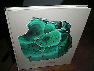 . Wonderful  Book  .   About  Art  With  Malachite  Stone  In  Russia  .  Fine