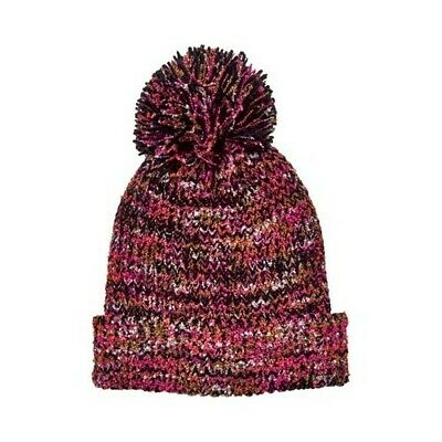 8eaffb4081c San Diego Hat Company Women s Multi Yarn Cuff Beanie with Pom KNH3603 Multi