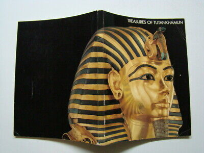 1976 Treasures of Tutankhamun Souvenir Book