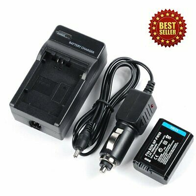 2 Pcs Rechargeable 1080mAh NP-FW50 Battery + Charger For Sony NPFW50 InfoLthium