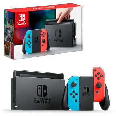 Nintendo Switch Neon Joy-Con Console Reconditioned NEW