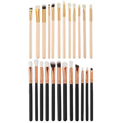 12X Pro Makeup Brushes Set Foundation Powder Eyeshadow Eyeliner Lip Brush Tool H