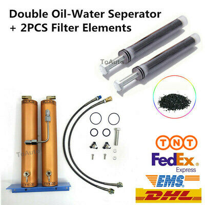 30Mpa PCP Compressor Water-Oil Separator Air Filter Elements Activated Carbon