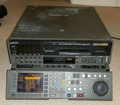 Sony DVW-A500P pal digi beta recorder with beta SP playback.upgraded LCD panel (