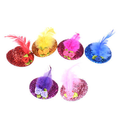 Doll Hat Headwear Hairclip Accessories For  Doll Decoration Gift Toys HC