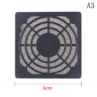 4pcs 80x80mm Computer Mesh Fan Cooler Dust Filter Dustproof Case Cover Pip IJ