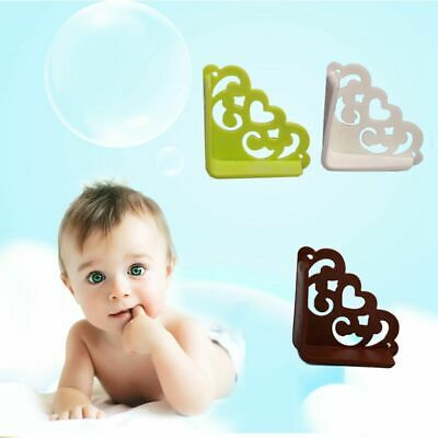 Soft Baby Safe Corner Protector Edge Guards Kids 4Pcs Hollow Out Flower Pattern