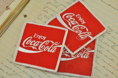 Coca Cola Coke Logo Iron On Embroidered Jacket Cap Jersey Patch Nascar Lv Pepsi