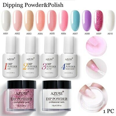 Nail Dipping Powder Base Activator Multicolor Natural Dry Without UV Lamp