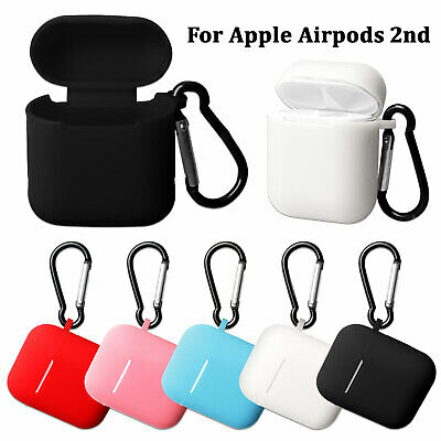 Shockproof Silicone Cover Case Skin Sleeve For Apple AirPods 2nd Gen Earphones