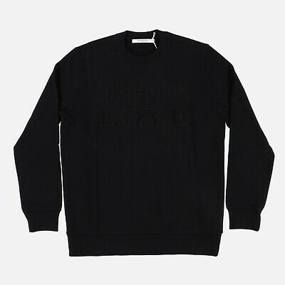 Givenchy Power of Love Embroidered Sweatshirt | Size M FW16 RRP $1190