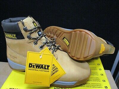 DEWALT Apprentice Leather Flexi Hiker Safety shoe UK size 12 new with box