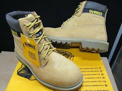 DeWalt Explorer Safety Boots Explorer Dewalt Steel Toe Caps Mens Nubuck Size 7