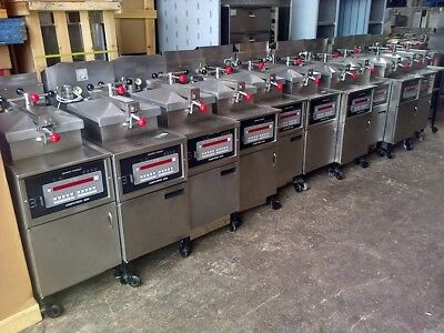 HENNY PENNY CHICKEN EQUIPMENT - GAS Chicken Pressure Fryers -FREE UK Delivery