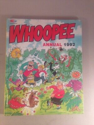 Whoopee Annual 1992, Published 1991, Vintage Comic Book unclipped