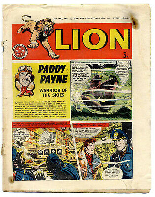 Lion 18th May 1963 (mid-grade) Captain Condor, Karl the Viking, Robot Archie
