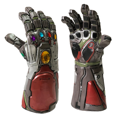 Avengers 4 Endgame Cosplay Iron Man Infinity Gaunt Hulk Gloves Halloween Props