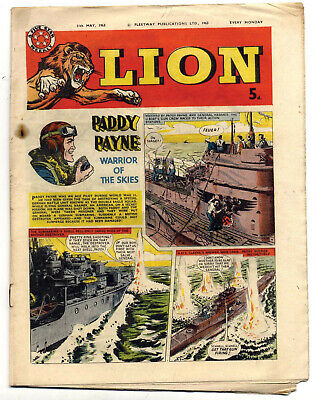 Lion 11th May 1963 (mid-high grade)Captain Condor, Karl the Viking, Robot Archie
