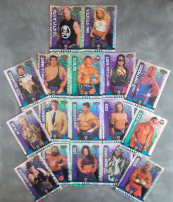 Topps Slam Attax WWE Wrestling Trading Cards Holographic Foil Champion & Icon