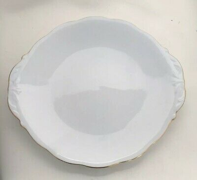 Queen Anne Fine Bone China Cake / Sandwich Plate - VGC Pattern No 5078 (17)