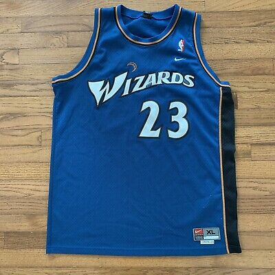 754895bb0d16 Vintage Michael Jordan Washington Wizards Jersey Mens XL +2 Sewn Stitched  NBA