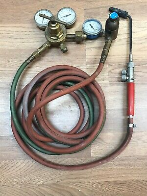 Victor SR 250D & Goss Regulators Oxygen/ Propane Welding Torch