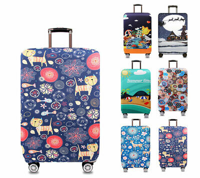 """Elastic Luggage Suitcase Thicker 18""""-32"""" Trip Anti-dirty Trolley Case Protective"""