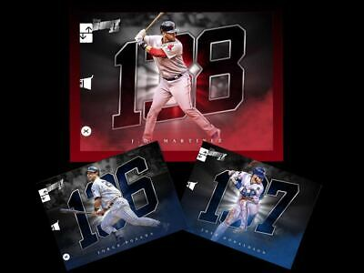 2019 BUNT 150 BASE #136-138 SET 3 POSADA/ MARTINEZ/ DONALDSON Topps Bunt Digital
