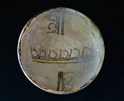 *SC* AN ISLAMIC POTTERY BOWL, WESTERN-CENTRAL ASIA, 11th.-12th cent. AD!