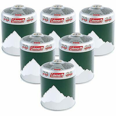 Coleman Extra Value C500 Gas Cartridge Green Camping Stoves & Lanterns Pack Of 6
