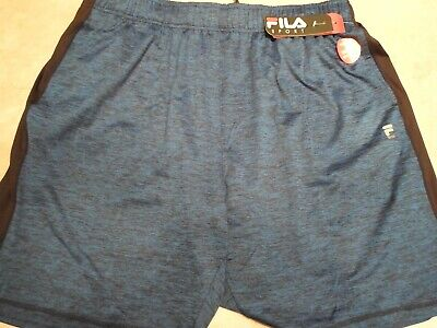 85720a3b7247 Fila Sport Training Athletic Shorts - Blue/Black - Men's Size XXL