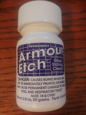 Armour Etch Bottle Cream 2.8 oz. New Sealed