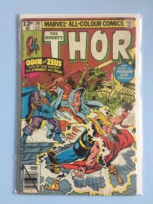 The Mighty Thor # 291 Marvel Comics 1979 FN Bronze Age