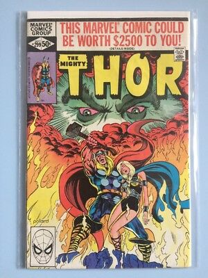 The Mighty Thor # 299 Marvel Comics 1980 FN Bronze Age cents cover