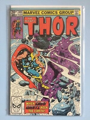The Mighty Thor # 308 Marvel Comics 1981 FN Bronze Age