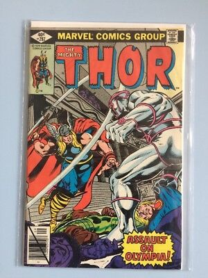 The Mighty Thor # 287 Marvel Comics 1979 FN-VF Bronze Age cents cover