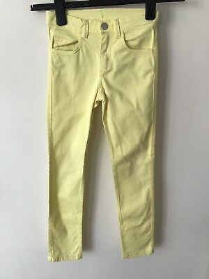 Girls H&M Yellow Trousers Age 8-9