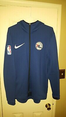 818c107be276 Philadelphia 76ers Showtime Therma Flex Performance Full Zip Hoodie Mens  Size XL