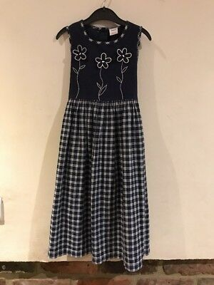 Next Lovely Girls Dress Age 5-6yrs 100% Cotton In Excellent Condition