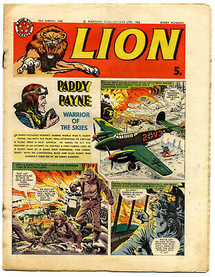 Lion 23rd March 1963 (high grade) Captain Condor, Don Lawrence's Karl the Viking
