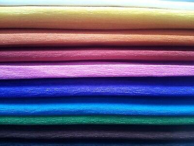 Crepe paper mix standard ideal for crafts arts decorations school birthday party