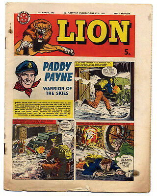 Lion 2nd March 1963 (mid-high grade) Captain Condor, Karl the Viking...