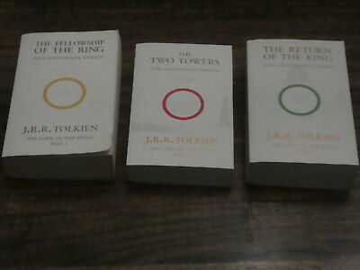 Lord of the Rings 50th Anniversary edition trilogy, Harper Collins