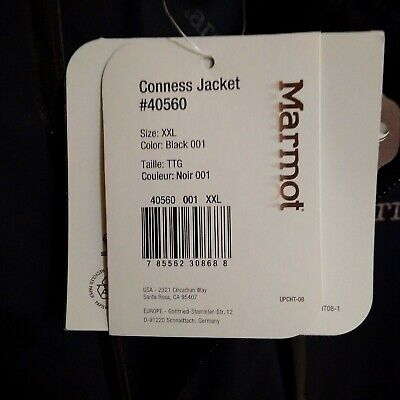 Marmot Conness mens jacket size XXL new with tags