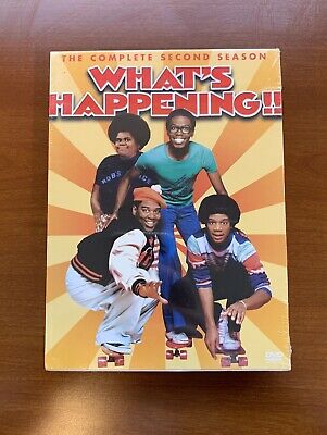 What's Happening!! - The Complete Second Season 2 (2004, 3-Disc DVD Set)  New
