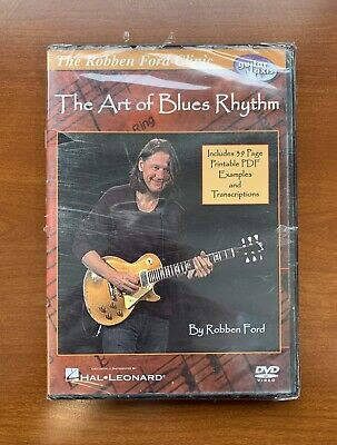 Robben Ford The Art of Blues Solos The Robben Ford Clinic Instructiona 000320845
