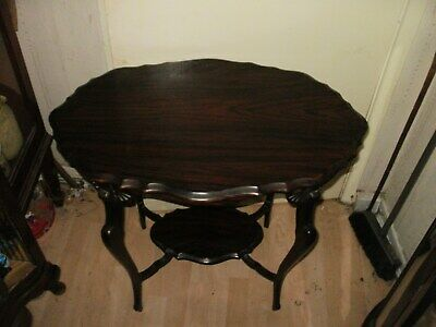 Rare look rosewood edwardian occasional table circa1900s of great shape colour