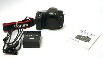 Canon EOS 7D Mark II 20.2MP Digital SLR Camera Used Excellent Sensor Cleaned