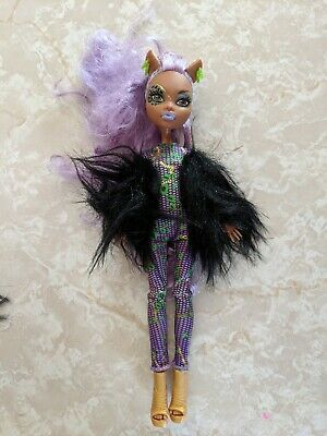 """Monster High 11"""" Doll CLAWDEEN WOLF WEREWOLF Ghoul's Rule Ghouls"""