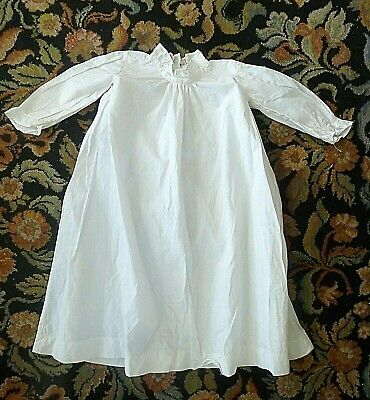 Vintage Antique Child Baby Christening gown dress